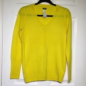 NEW J. Crew Factory Cashmere V-Neck Sweater